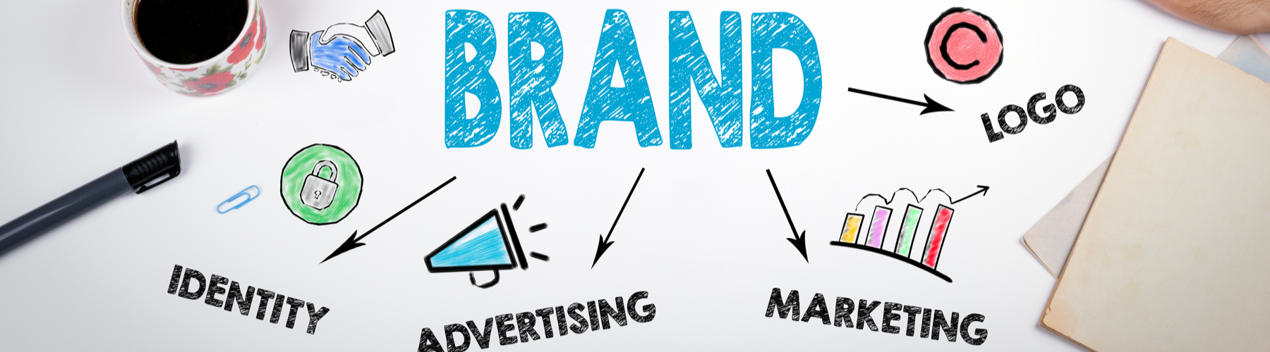 Come creare il design del tuo brand